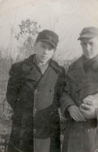 Marian Zimnicki z kolegą Waldkiem Krupskim